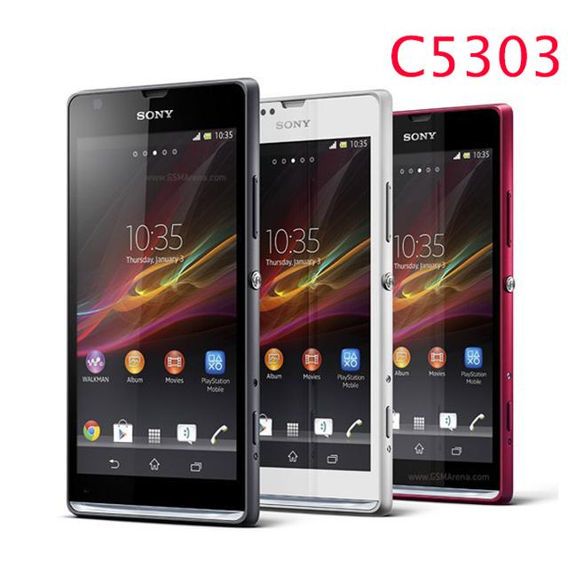 Teléfono celular original sony ericsson xperia sp m35h c5302 c5303 3g y 4g Android GSM 3G WIFI GPS 4.6 ''8MP Cámara del teléfono Envío Gratis