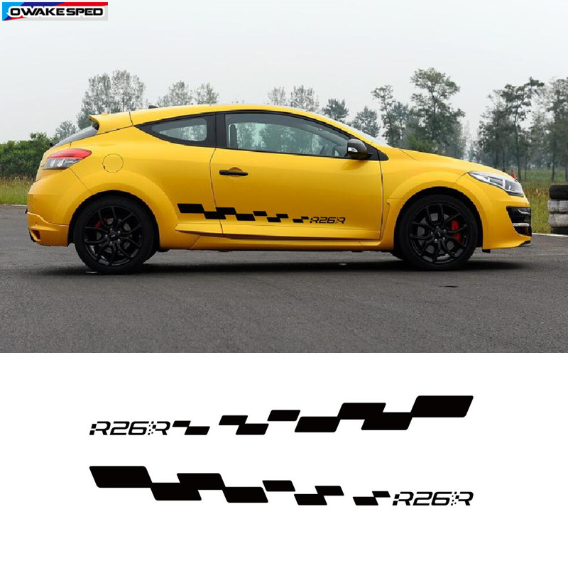 ♔ >> Fast delivery renault megane rs stickers in Boat Sport