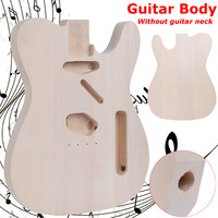 Free Shipping DIY Unfinished Electric Guitar Body Basswood For Telecaster Guitar Replace Parts Guitar Barrel Parts