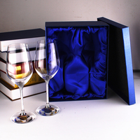 Wedding Wine Glasses Glass Cup for Red Wine Crystal Wine Glass Gift Box Packing Wine Goblet Set Glassware Wedding Party Gifts