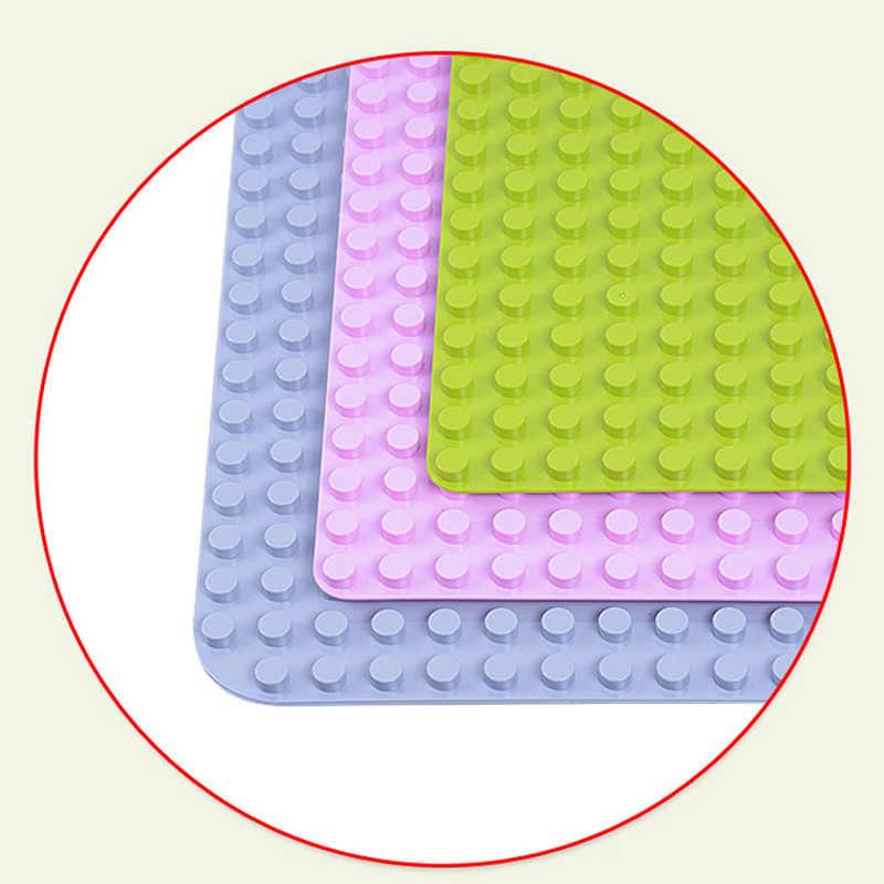 GOROCK Duploe большое основание для блоков 764 точек DIY большая Строительная пластина для строительных блоков игрушки для детей совместимы с Legoings