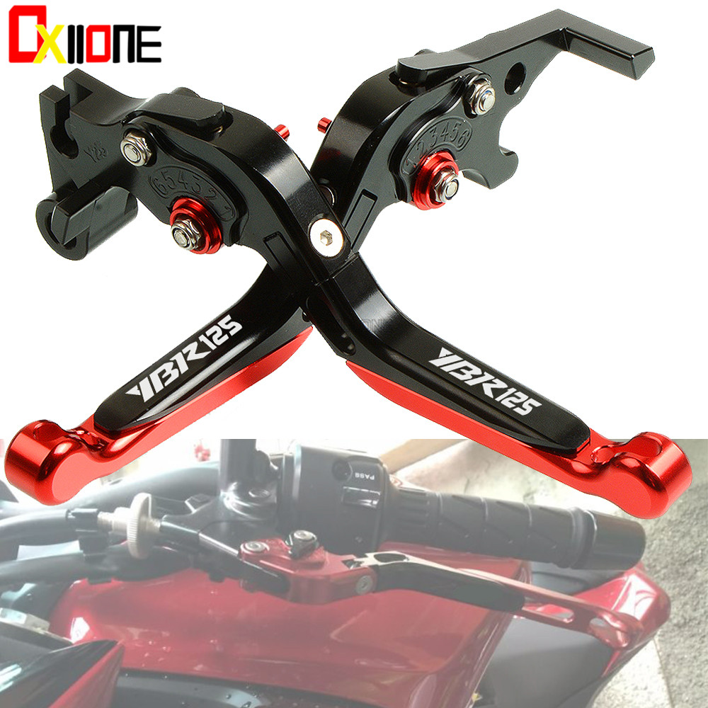 Motorcycle Accessories Folding Extendable Brake Clutch Levers For YAMAHA YBR125 YBR 125 2005-2014 2006 2007 2008 2009 2010 cnc adjustable folding extendable motorcycle brake clutch levers for buell xb9 all models 2003 2004 2005 2006 2007 2008 2009