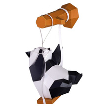 Model-Toy Paper-Craft-Model Animal-Paper Home-Decor DIY 3D Swing Party-Gift Panda-On