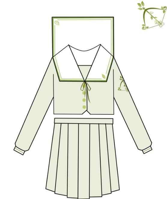 Özel yapılmış özelleştirilmiş japon JK üniforma seti kız öğrenci okul kadın yenilik Sailor takım elbise okul üniforması