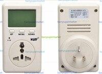 WF-D02A توفير الطاقة الكهرباء الطاقة wanf البسيطة واط متر فاحص مقياس مراقب ac الجهد تايوان المكونات