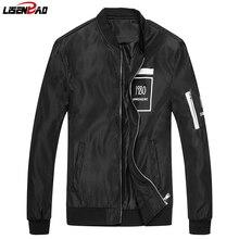LiSENBAO 2017 Neue Frühling und Herbst jacke mantel männer marke kleidung mode männlichen bomberjacke top qualität Lässig dünne mantel J16