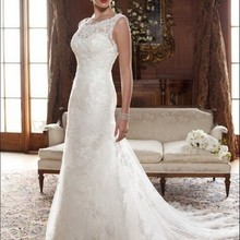 Mrs win Elegant Wedding Dresses Chiffon A-line