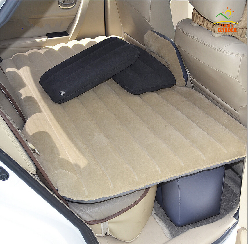 Inflatable Car Cushion Air Bed Bedroom Inflation Travel Thicker Mattress Back Seat Extended Mattress