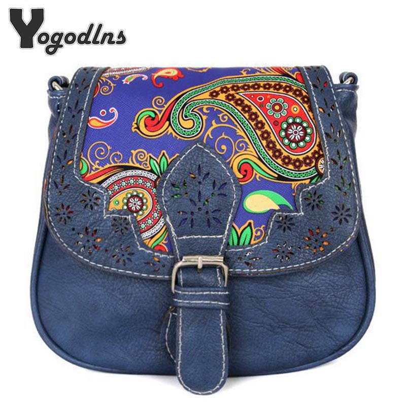 2018 Vintage Women bag Lady PU Leather Cross Body messenger Shoulder Bags Handbags Women Famous Brands sac a main Bolsa Feminina цена