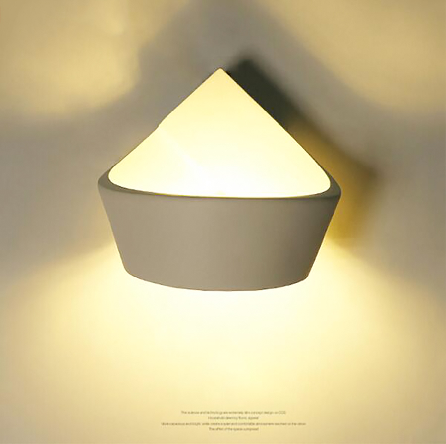 High quality 5W warm white modern led wall light, Creative shape modern design wall lamp lights for home