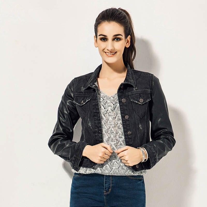 Womens Black Jean Jacket - Best Jacket 2017