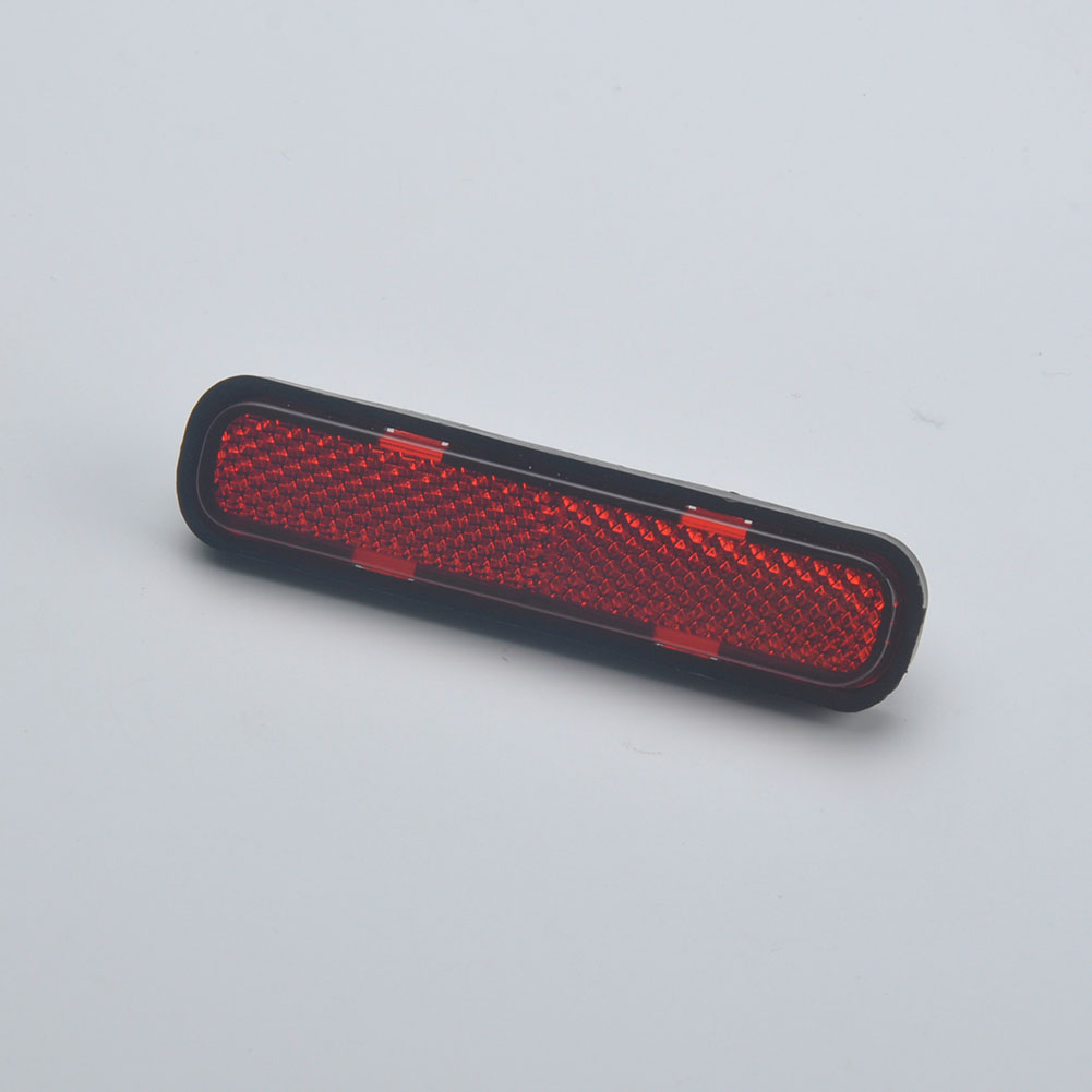 Super Quality Bike Bicycle Rear Frame Reflector Lamp Warning Reflector Light Reflective Red Strips Self Stick