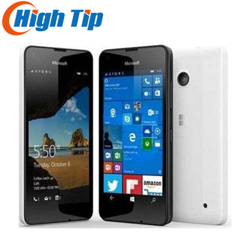 Débloqué Original Nokia Microsoft Lumia 550 Quad-core 8 gb ROM 5MP Windows mobile téléphone LTE 4g 4.7 1280x720 Rénové dropship