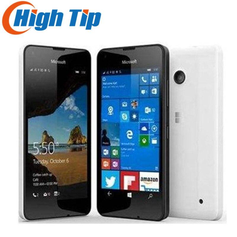 Sbloccato Originale Per Nokia Microsoft Lumia 550 Quad-core 8 gb ROM 5MP Finestre del telefono mobile LTE 4g 4.7