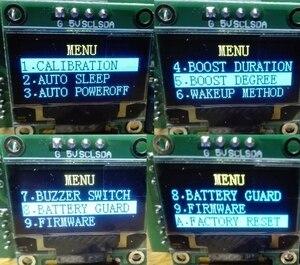 Image 5 - ضبط درجة الحرارة QUICKO T12 STC OLED وحدة التحكم الرقمية لحام الحديد محطة لحام لوحة عرض تنطبق على نصائح حبر T12