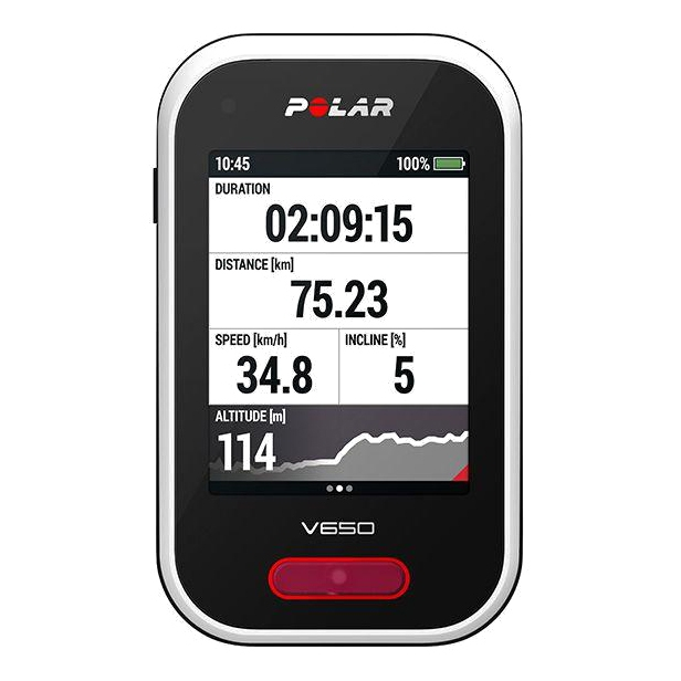 Intelligent cycling GPS POLAR V650 (sensor OH1)