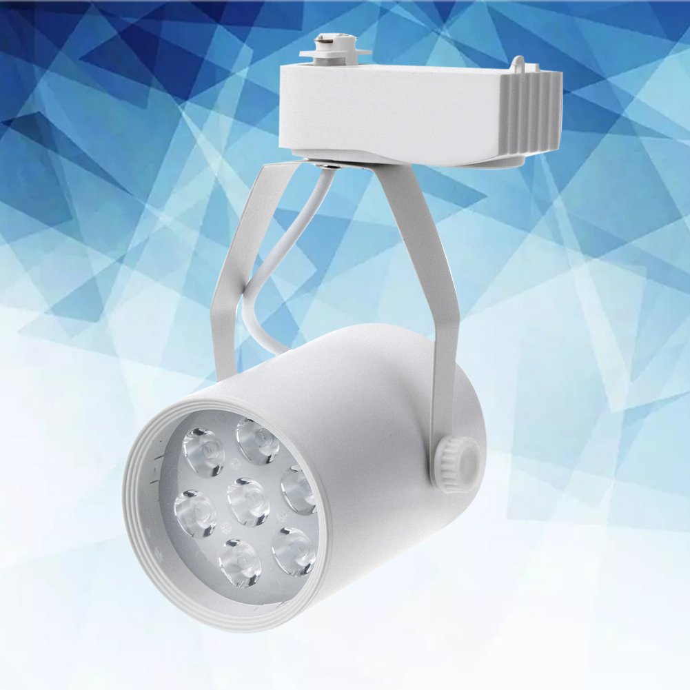 FÜhrte Schienenlampe 7 Watt Ac 86-220 V 2835 Led Weiß Downlights Deckenaufbau Kabinett Punktlicht 360 Grad-umdrehung # Lo Neueste Mode Licht & Beleuchtung