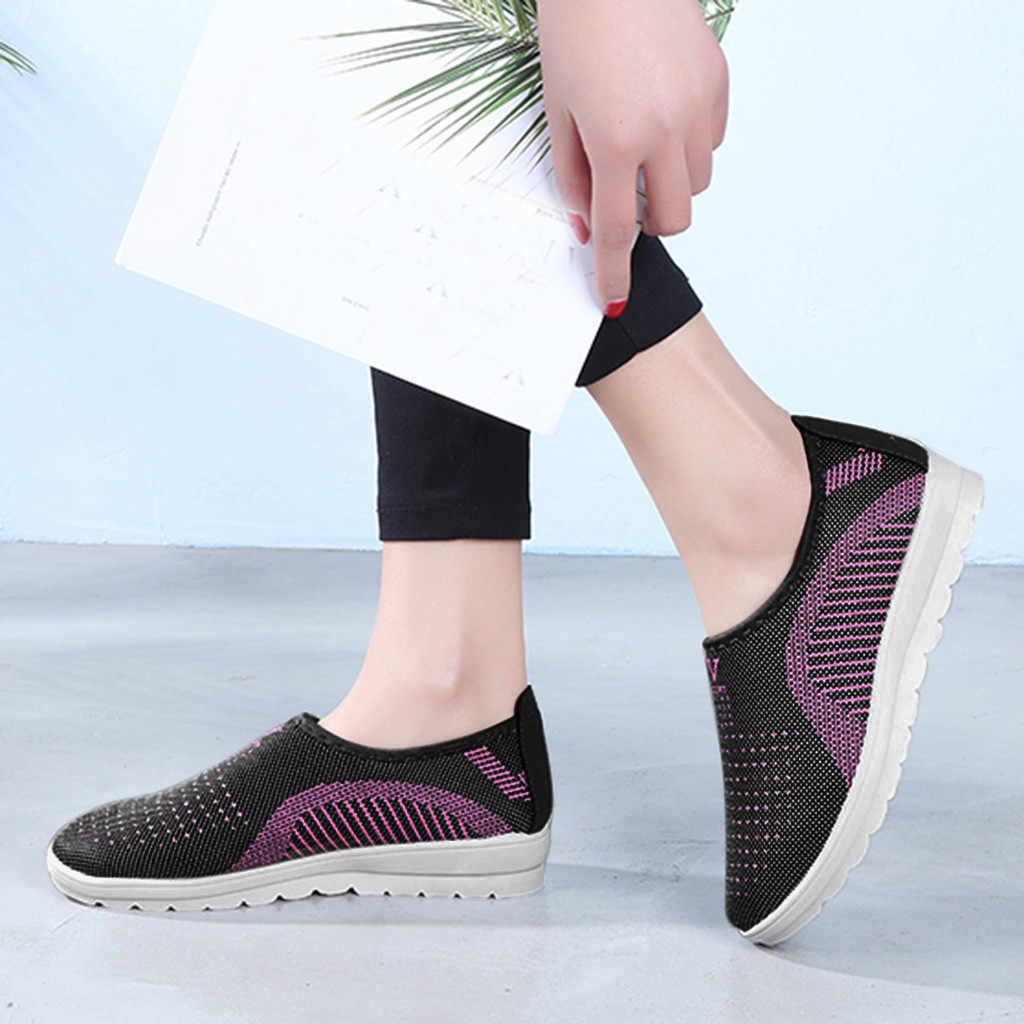 Kadın bayanlar sneakers rahat slip-on ayakkabılar kadın ayakkabı yumuşak ayakkabı kadın ayakkabı bahar kadın kanvas ayakkabılar rahat