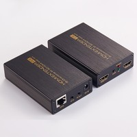 Full HD 1080P HDMI Extender Over Single Cat5e 6 UP TO 60m 200ft UTP Cables HDMI