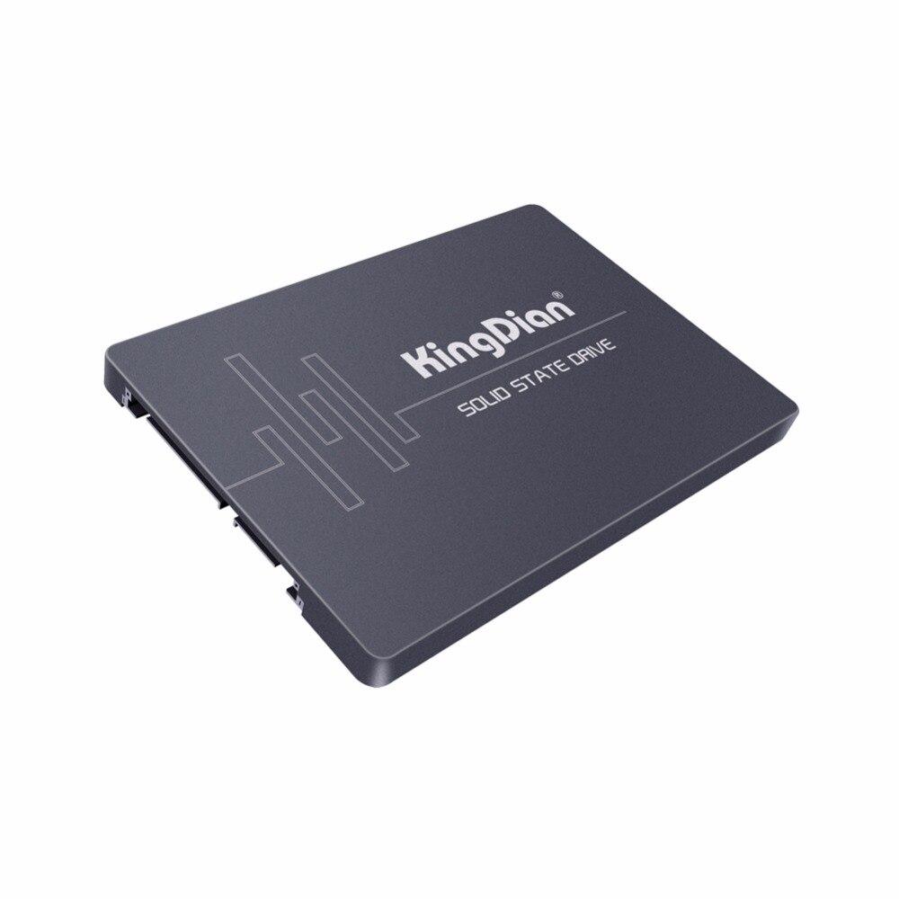 (S370 256 GB) Kingdian SSD 2.5 pouces 256 GB 554/476 mo/s SATAIII SSD avec Cache 32 mo pour ordinateurs portables disque dur à semi-conducteurs interne