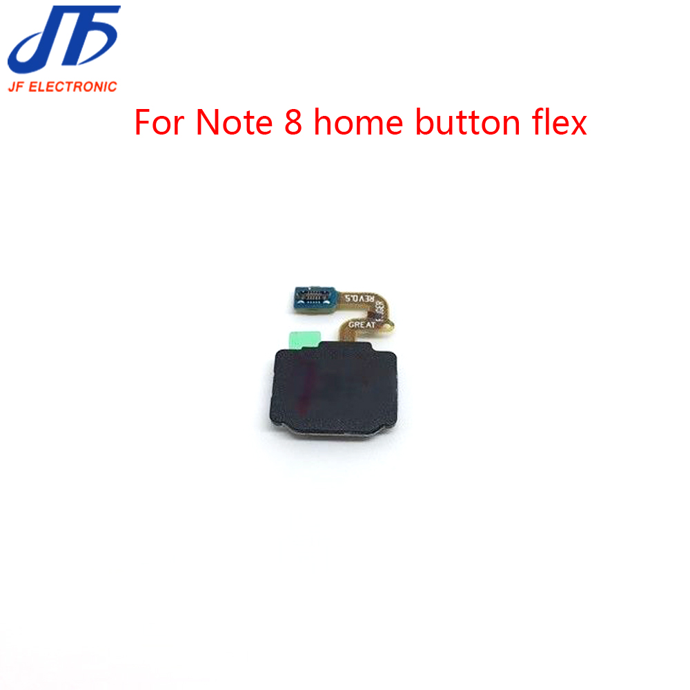 5pcs lot Touch ID Home Button Return Key Manu For Samsung Galaxy Note 8 Fingerprint Sensor