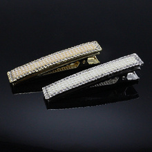 1pc Fashion Hairpins  Barrettes  Hair Clips  Brides  Rose Hair Jewelry  tiara Crystal Clips Bridal  Pearl Accessories B122