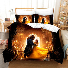 Movie Poster Rudy 3d Bedding Set Duvet Covers Pillowcases Alice in Wonderland Comforter Sets Bedclothes Bed Linen