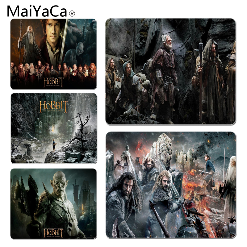 MaiYaCa The Hobbit Large Mouse pad PC Computer mat Size for 18x22x0.2cm Gaming Mousepads