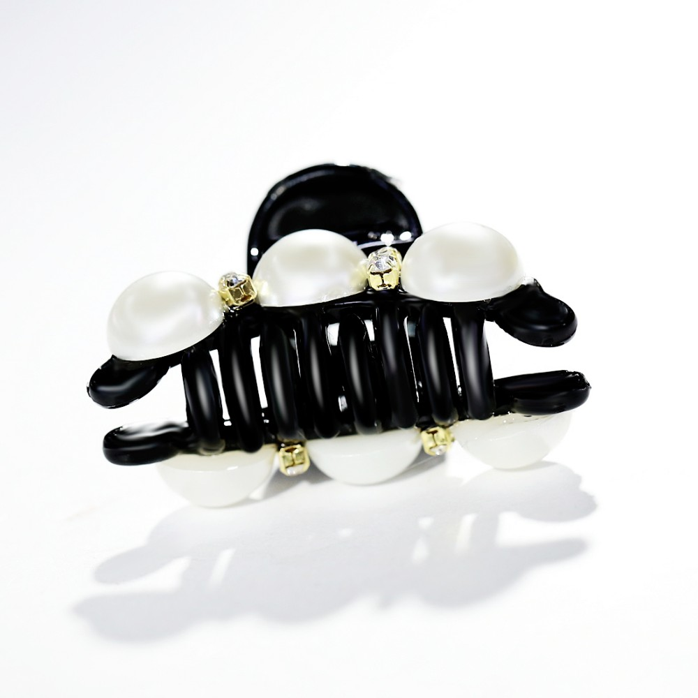 HTB1e_9mMpXXXXbgXXXXq6xXFXXXf Elegant Rhinestone Crystals And Faux Pearl Hair Clamp For Women - 5 Styles