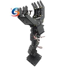 6DOF Robot Mechanical Arm Hand Clamp Claw Manipulator Bracket with MG996R Servo for Arduino