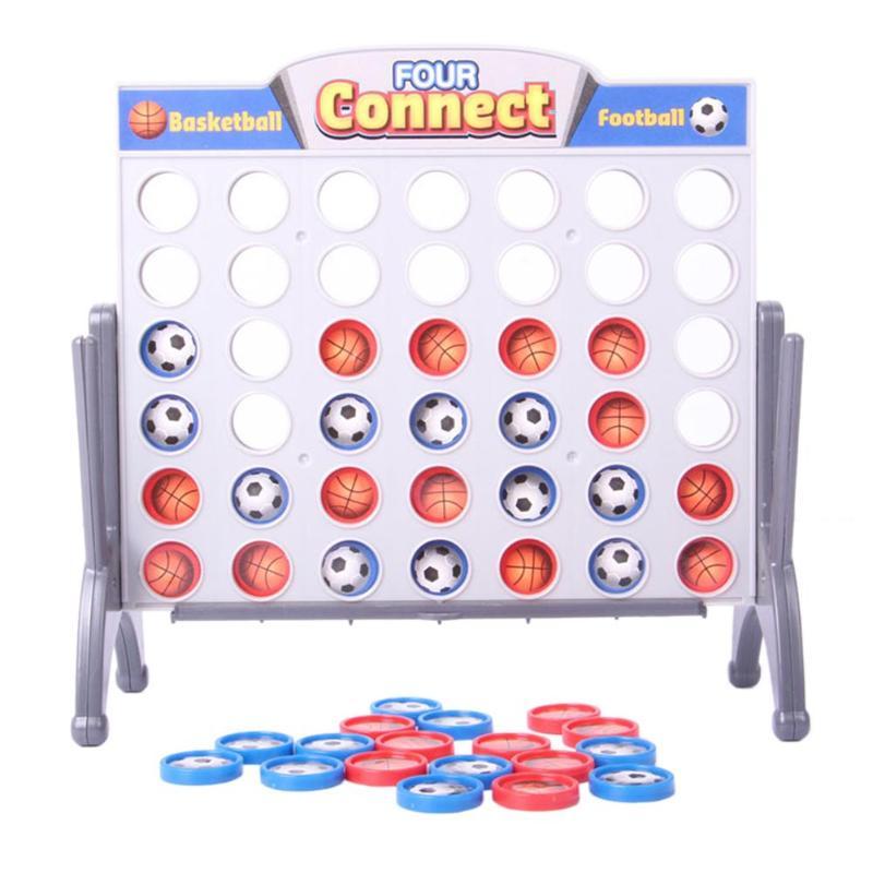 4 в линию подключения четырех Настольная игра шашки для детей спортивные развлечения родитель-ребенок Интерактивная игрушка