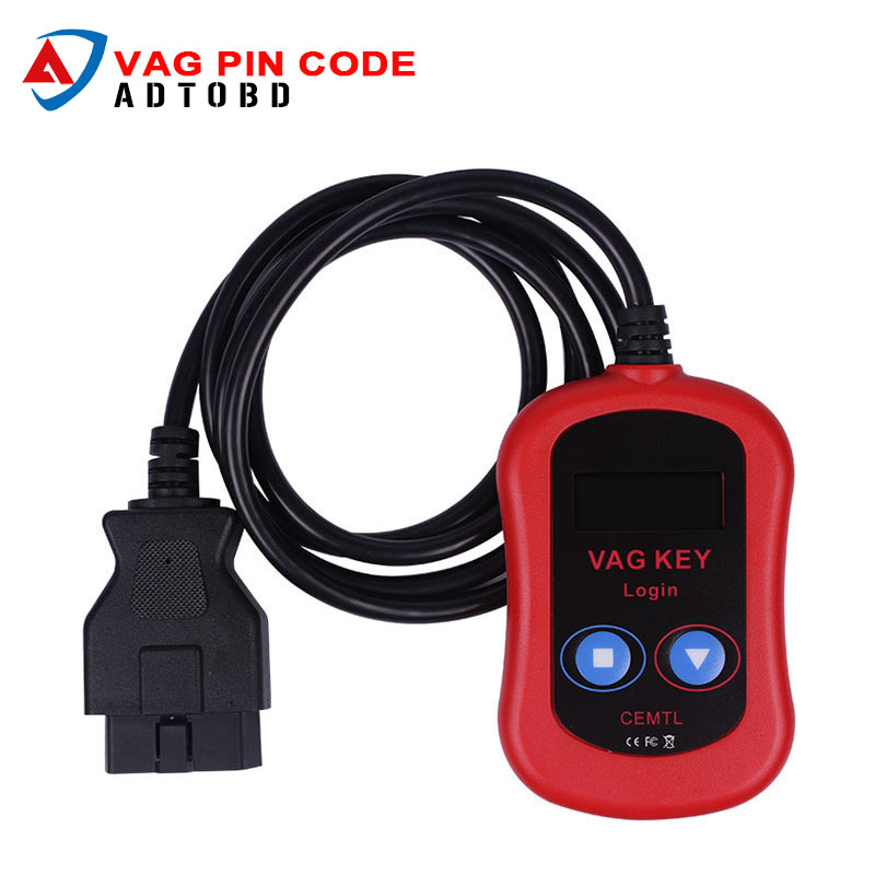 2017 High Quality VAG PIN Code Reader/Auto vag Key Programmer Device via OBD2 vag key login vag key programmer Free Shipping sades a60 gaming headphones 7 1 usb stereo surround sound fone de ouvido game headset led earphones with mic for pc casque gamer