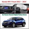 Para honda hrv hr-v vezel 2013 ~ 2015 Câmera Do Carro Ligado Tela Original tela de Monitor e Câmera de Segurança Retrovisor do carro Original