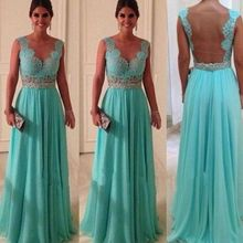 Hot New Sexy Women 'S Long Lace Backless Evening Party Forma
