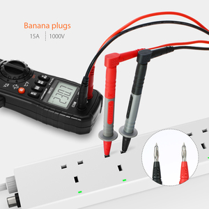 Image 3 - Meterk mk29 kits de chumbo teste eletrônico para multímetro digital tester com clipes jacaré pontas sondas substituíveis kit acessórios