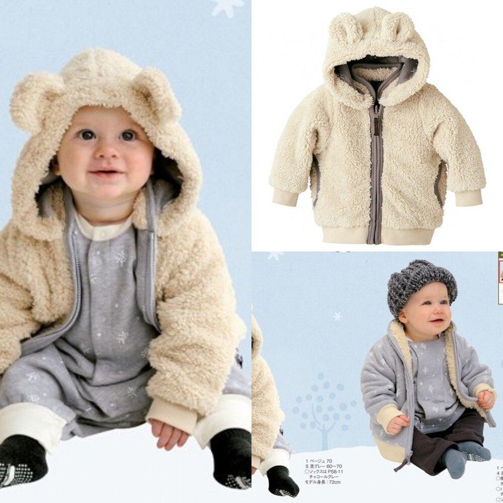 Baby Mantel Solide Baby Jungen Winter Mantel Mit Kapuze Verkauf Ein Stück