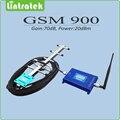 Gsm сигнала усилитель жк-дисплей с высоким коэффициентом усиления 70dB 900 мГц мобильный усилитель сигнала gsm-репитер полный комплект с антенны яги и кнут антенна
