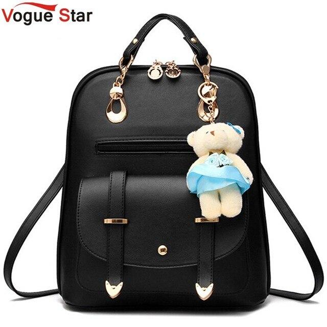 Vogue Sterne 2020 frauen rucksack leder rucksäcke frauen reisetasche schule taschen rucksack frauen reisetaschen Rucksack taschen LS535