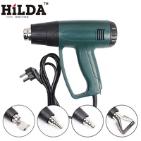 HILDA 220V EU Plug Industrial 2000W Electric Hot Air Gun Thermoregulator Heat Guns Shrink Wrapping Thermal