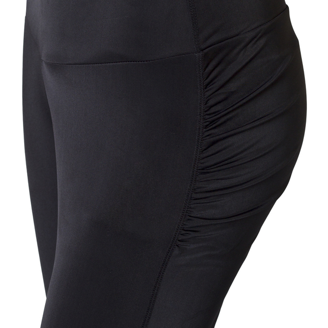 CHRLEISURE Sexy Push Up Black Leggings Women Fashion High Waist Workout Polyester Leggings Jeggings Slim Legging 8
