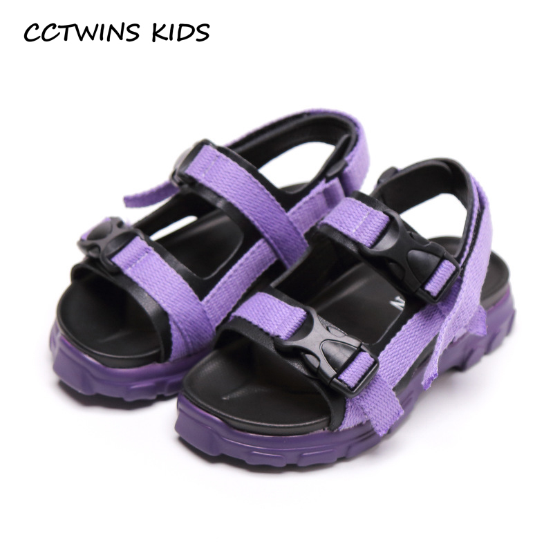 CCTWINS Kids Shoes 2019 Summer Boys Fashion Black Beach Sandals Girls Breathable Barefoot Flats Children Baby Soft Shoes BS301CCTWINS Kids Shoes 2019 Summer Boys Fashion Black Beach Sandals Girls Breathable Barefoot Flats Children Baby Soft Shoes BS301