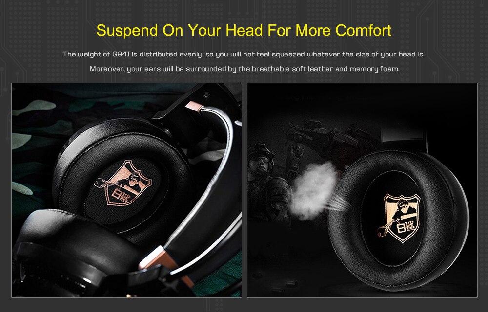 ativo fone de ouvido com vibração mic para computador pc gamer