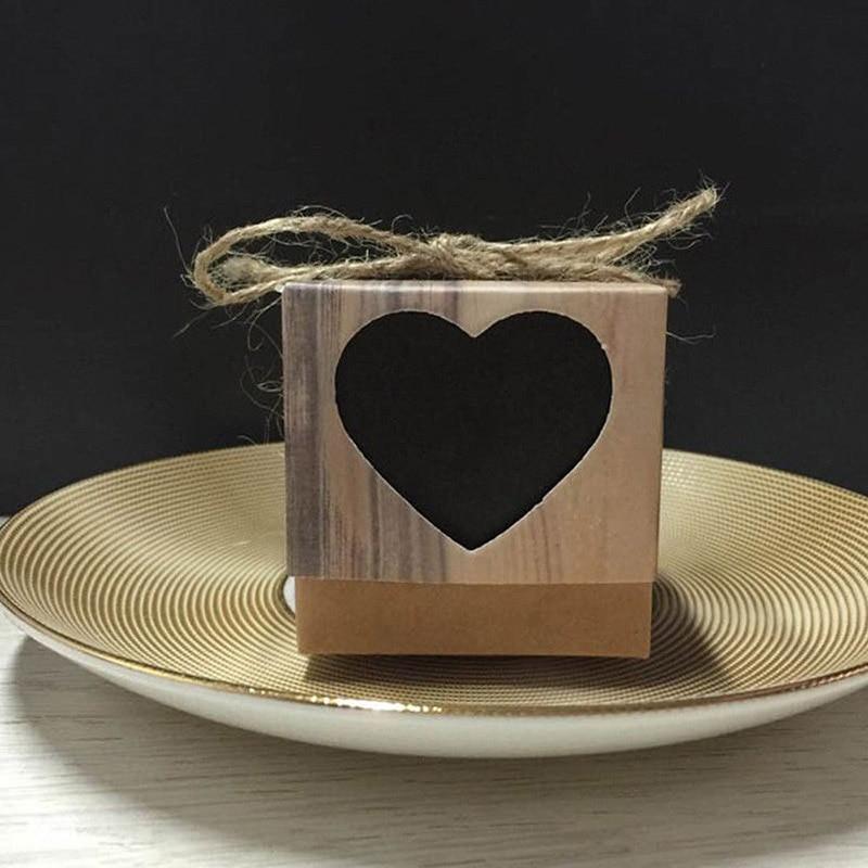 Rotan Ei Stoel.Beste Kopen 50 Stuks Wedding Gift Dozen Snoep Kraft Papier