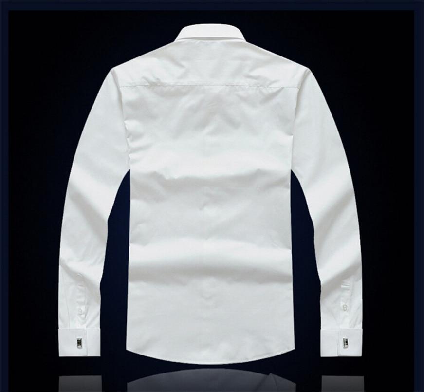 CARFANTE Herren Business Hemd Marke Langarm Twill Französisch - Herrenbekleidung - Foto 3