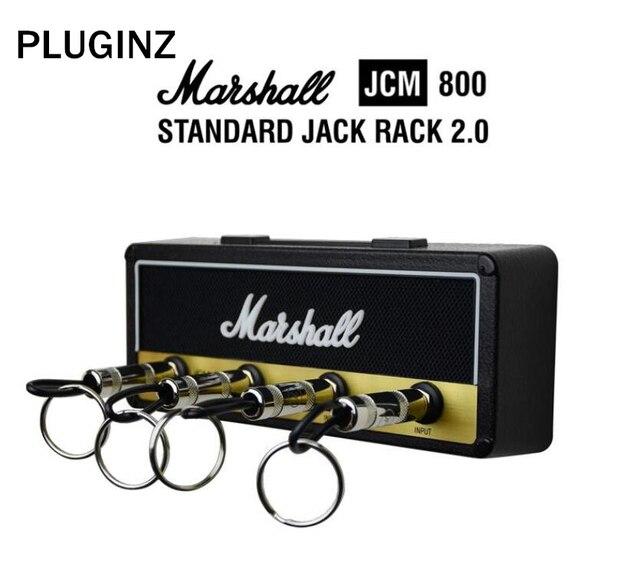Pluginz Jack II стойки Amp винтажная гитара усилители домашние Key Holder крючок для штепселя 2,0 Маршалл JCM800 Маршалл ключ держатель гитары ключ