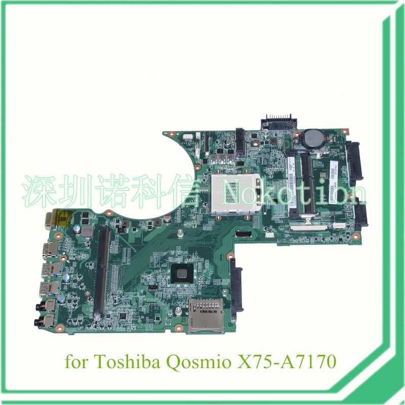 DA0BDDMB8H0 A000240360 For toshiba Qosmio X70 X75 X75-A7170 laptop motherboard 17.3 inch with graphics slot