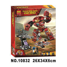 Ironman Hulkbuster Smash-u Building Blocks Compatible With Legoing Iron Man 76104 Marvel Super Heroes Avengers Infinity War Toy