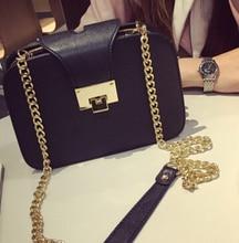 2017 женская мода сумки два слоя сумка сумка старинные популярные мобильного телефона маленькая сумка цепи мешок черный цвет
