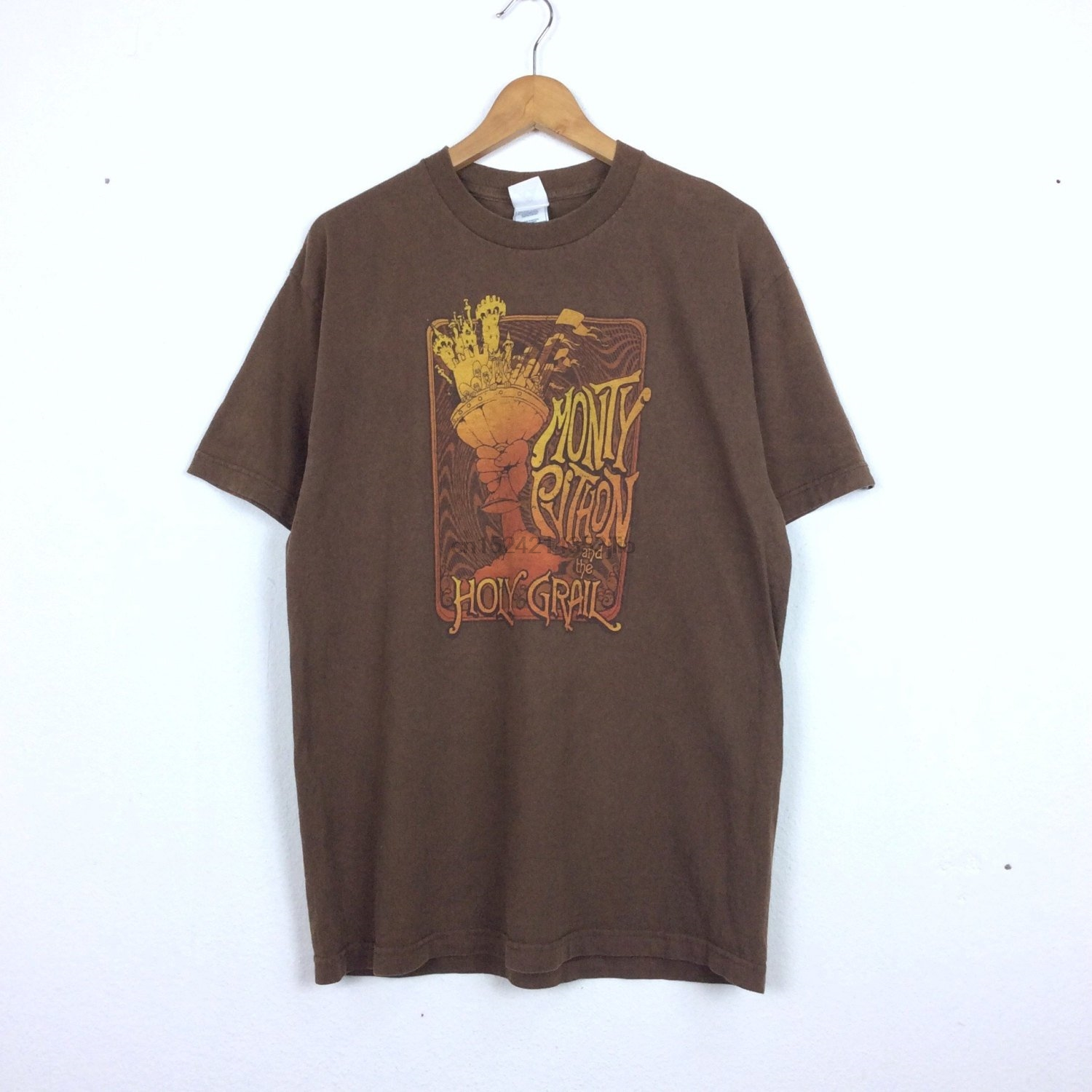 f5f6a5b12 Vintage Monty Phyton and The Holy Grail shirt vintage Movie Viking