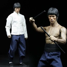 1/6 Scale Bruce Lee Enter The Dragon Kung Fu clothes Set 75t